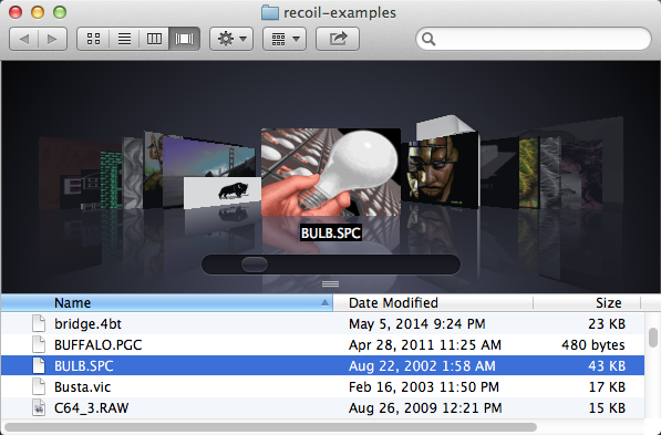 OS X Quick Look